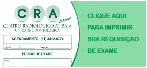 Requisição de Exames CRA